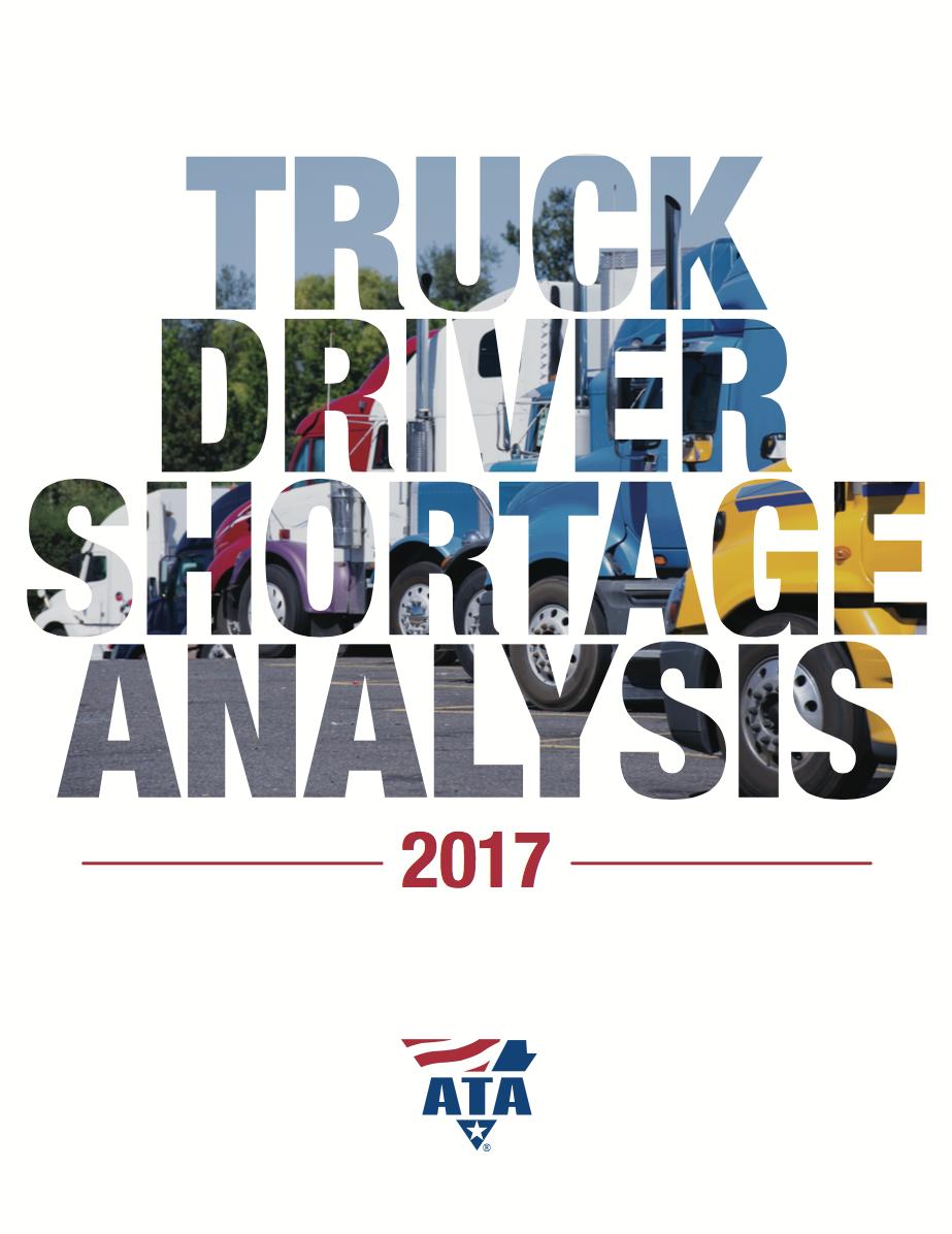 ATA Truck Driver Shortage Report
