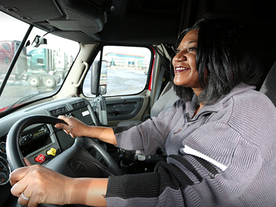 Female Truck Drivers Growing in Numbers