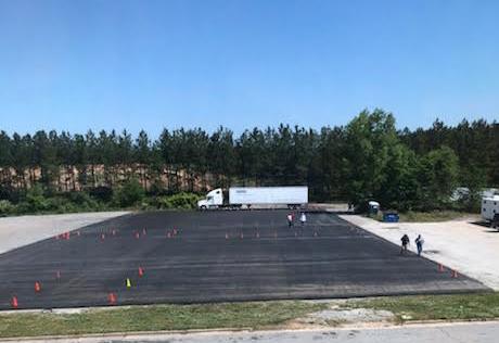 Katlaw Truck Driving School | Training Area